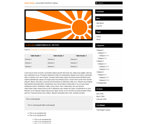 10 Pad 2 Rising Sun WP Theme