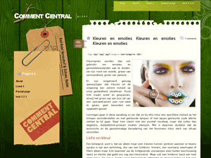 Wordpress Template-Comment Central
