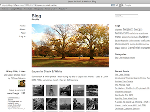 screenshot Clean, beautiful and simple wordpress themes