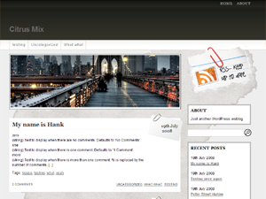 Fresh Editorial WP Theme