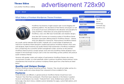Adsense WP Themes with ease of use!