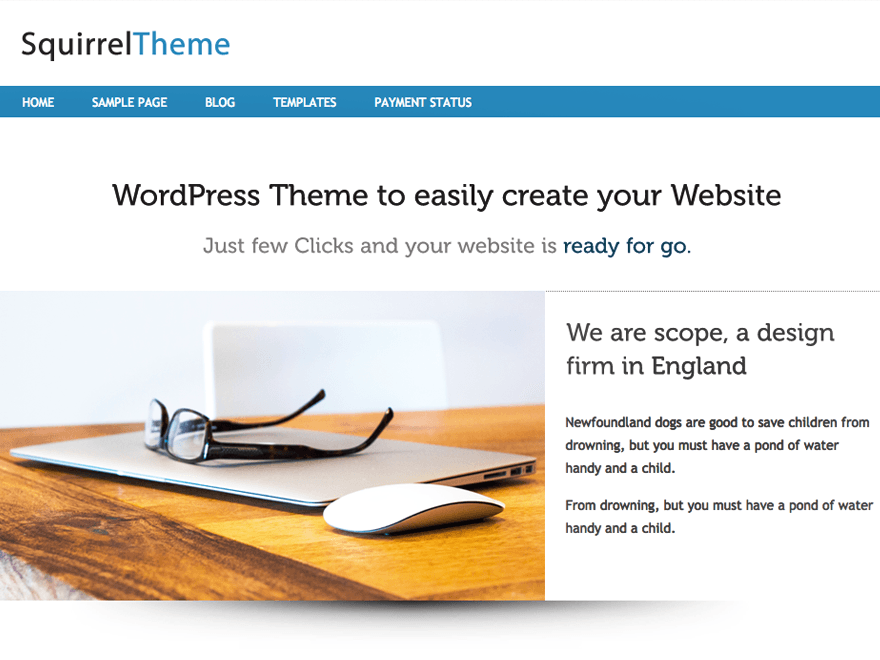 http://wp-themes.com/wp-content/themes/squirrel/screenshot.png