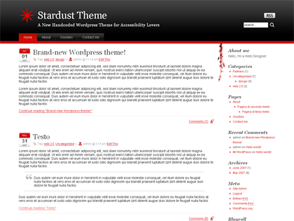 Stardust WP Theme