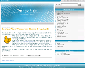 Techno Plain
