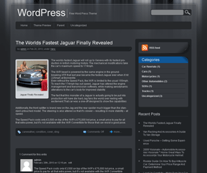 Jarrah Theme for WordPress